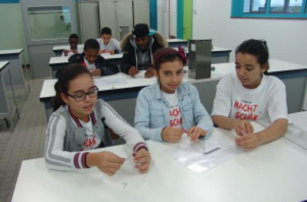 Eerste stapjes in de wetenschap: ontdekking van onze labo's.